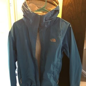 North Face women's small teal jacket